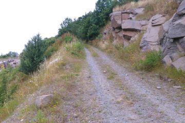 Stenbruddet ved Vang - MTB Spor
